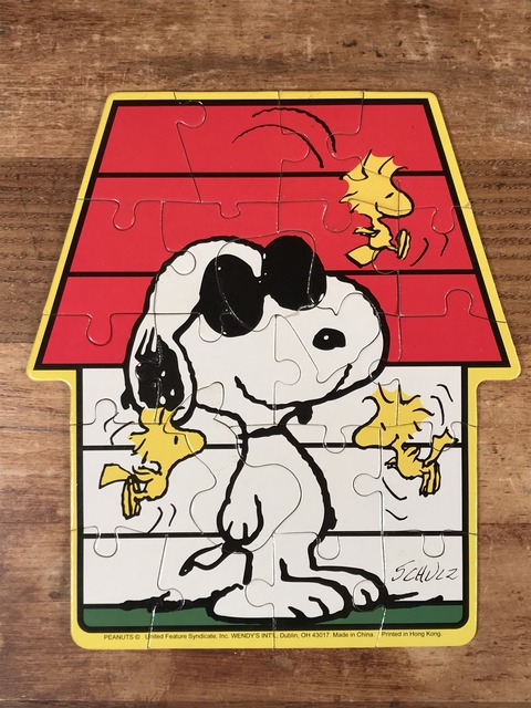 "Vintage Peanuts Snoopy ""50th Celebration"" Jigsaw puzzle (12)"
