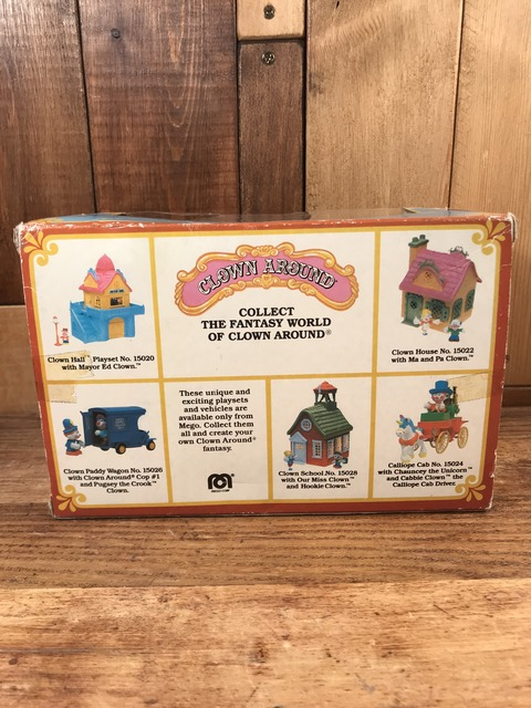 Vintage Mego Clown Around PVC Figure with Box (4)