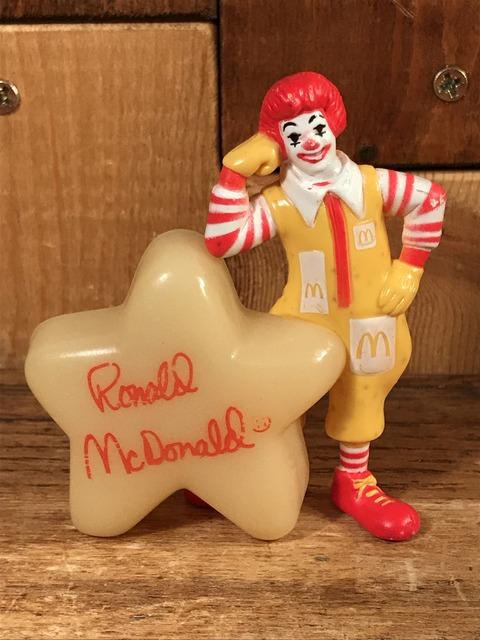 "Vintage McDonald's ""Ronald"" Glow In The Dark PVC Figure (1)"
