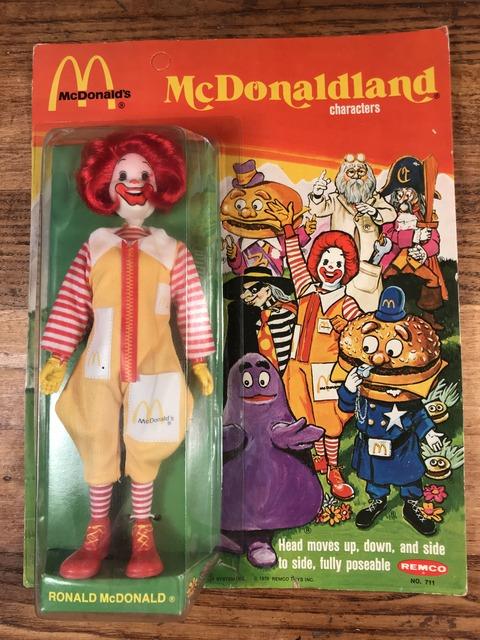 "Vintage Remco McDonaldland ""Ronald"" Figure (1)"