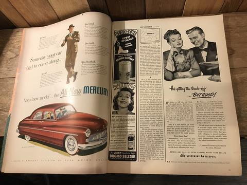 vintage 40's life magazine (302)