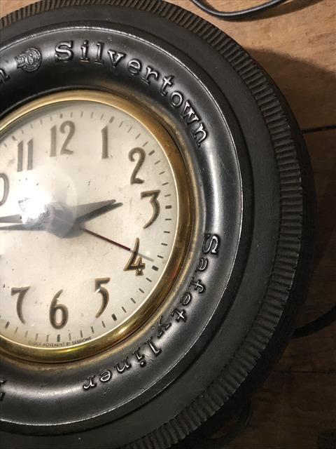vintage BF goodrich silvertown tire wall clock (10)