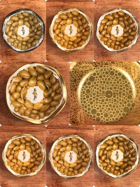 Vintage Planters Mr.Peanuts Tin Mini Snack Bowl