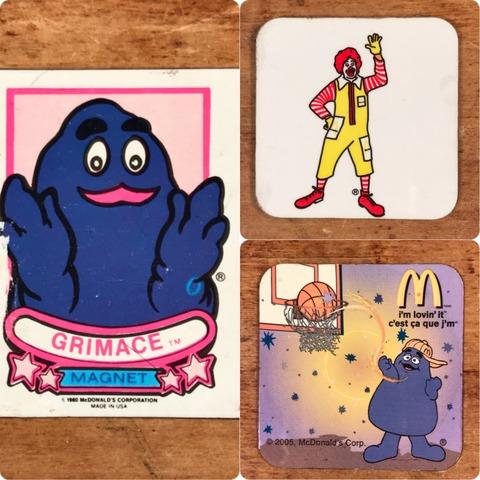 """Vintage McDonald's """"Ronald"""" Magnet"""