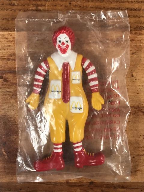 """Vintage McDonald's """"Ronald"""" Bendable PVC Figure (1)"""