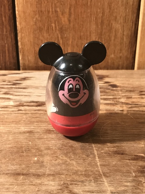 vintage hasbro disney mickey mouse weebles toy (1)