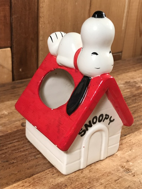 Vintage Peanuts Snoopy Ceramic Container (3)