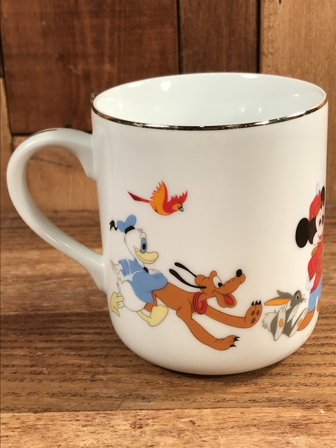 Vintage Disney Mickey Mouse March Ceramic Mug (6)