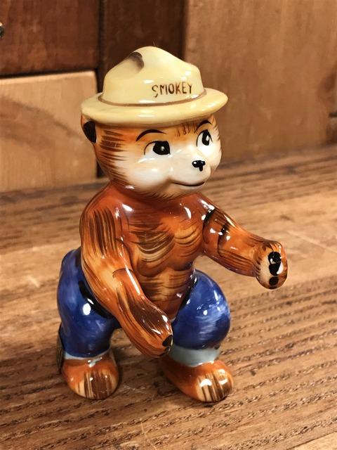 Vintage Smokey Bear Ceramic Figure (3)