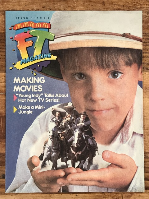 "Vintage McDonaldland Fun Times ""Making Movies"" Magazine (1)"