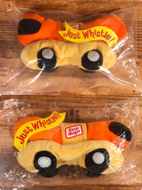 "Vintage Oscar Mayer ""Just Whistle!"" Beanbag Doll"