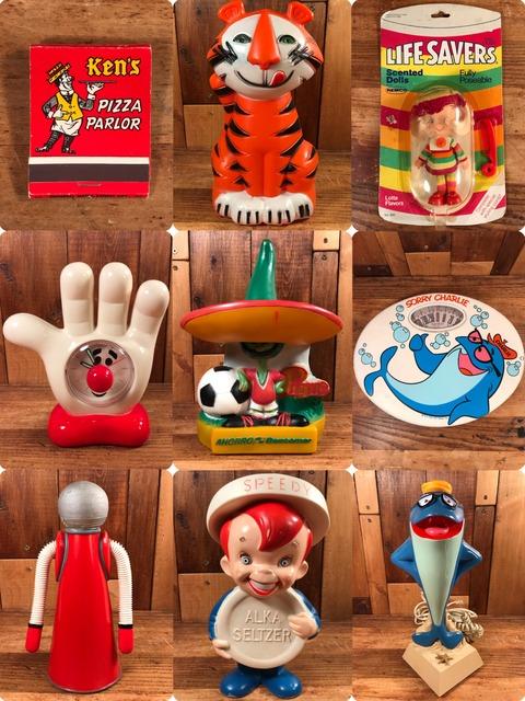 Vintage Advertising toys