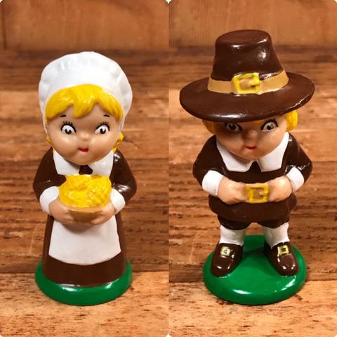 """Vintage Campbell Soup Kids """"Pilgrim Boy"""" PVC Figure"""