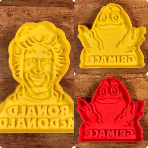 "Vintage McDonald's ""Ronald"" Cookie Cutter"