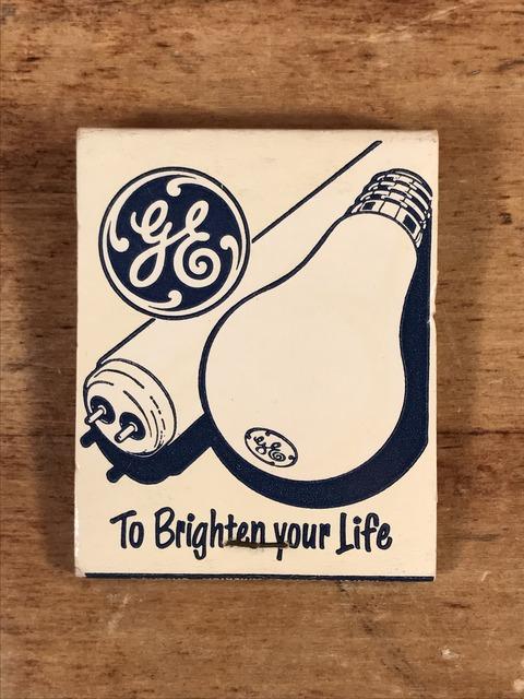 Vintage General Electric Matchbook (1)