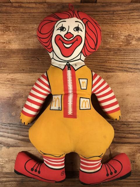"""Vintage McDonald's """"Ronald McDonald"""" Cloth Doll (1)"""