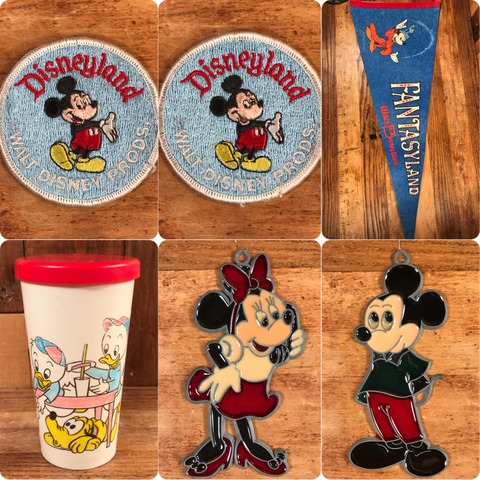 "Vintage Disneyland ""Mickey Mouse"" Patch"