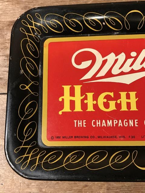 vintage miller high life tin tray (26)