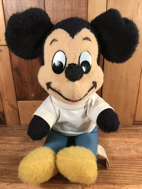 Vintage Disney Mickey Mouse Plash Doll (22)