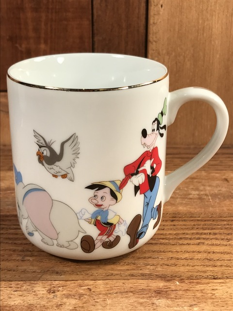 Vintage Disney Mickey Mouse March Ceramic Mug (5)