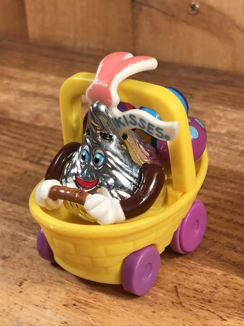 Vintage Hershey's Kisses Easter Pull Back Car Toy (2)
