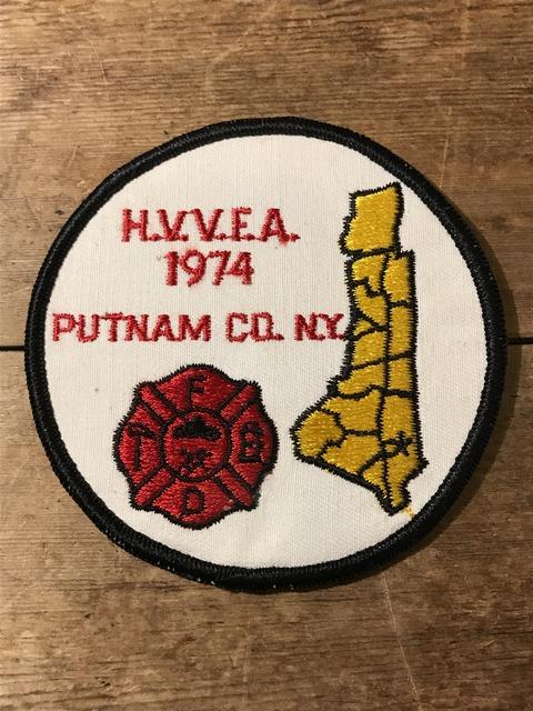 vintage fire police patch (196)