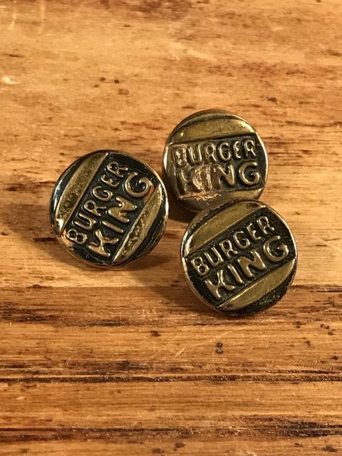 Vintage Burger King Metal Button