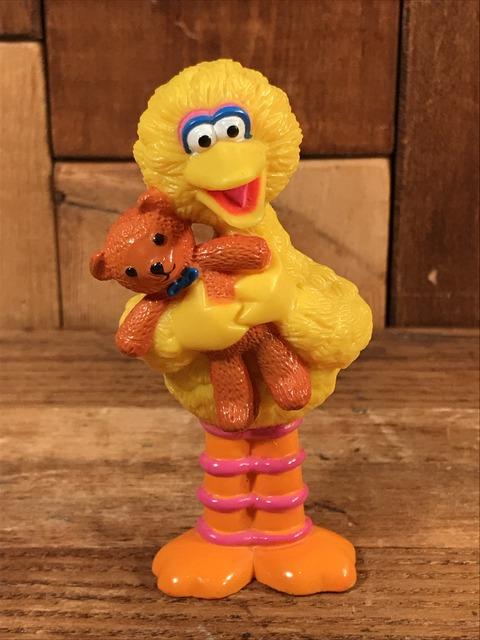 "Vintage Tyco Sesame Street ""Big Bird"" PVC Figure (1)"