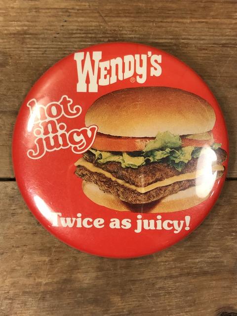 Vintage Wendy's Restaurant Big Pinback (31)