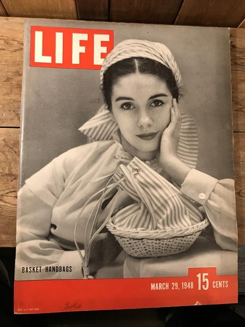 vintage 40's life magazine (308)