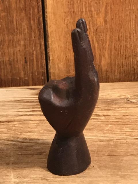 vintage wooden peace sign figurine (97)