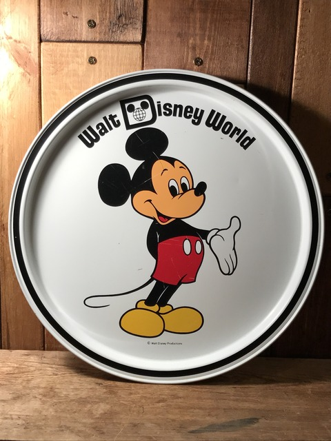 vintage disney world mickey mouse metal tray (64)