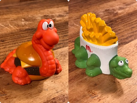 Vintage McDonald's McDino Changeables U-3 Happy Meal Toy (6)