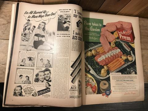vintage 40's life magazine (283)