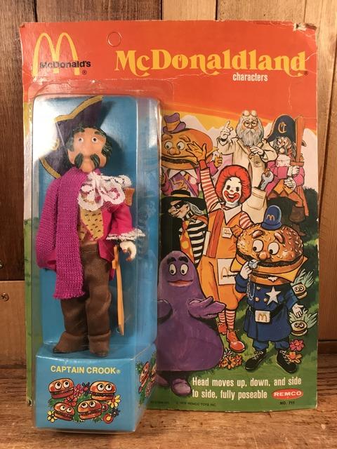 "Vintage Remco McDonaldland ""Captain Crook"" Figure (1)"