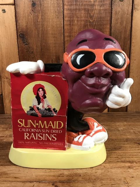 Vintage Sun-Maid California Raisins Coin Bank (1)