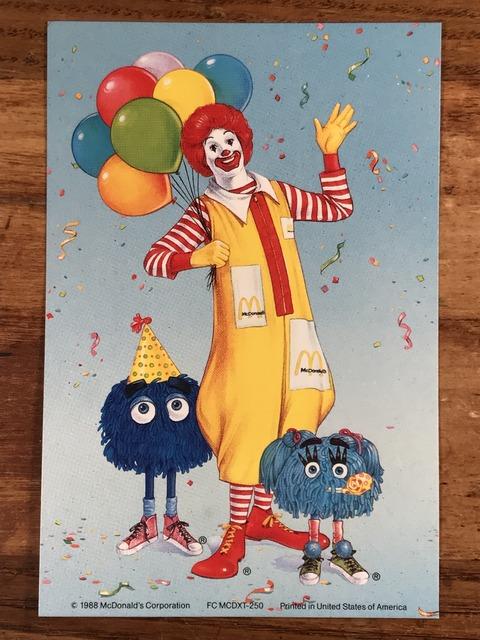 "Vintage McDonald's ""Ronald & Fry Kids"" Postcard (1)"