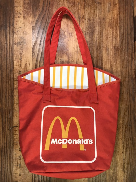 """Vintage McDonald's """"French Fries"""" Tote Bag (1)"""