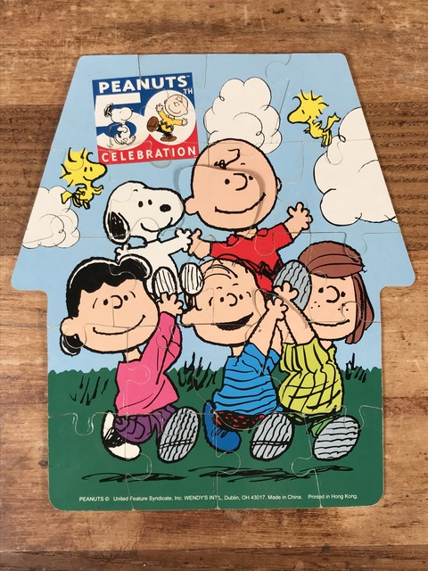 "Vintage Peanuts Snoopy ""50th Celebration"" Jigsaw puzzle (11)"