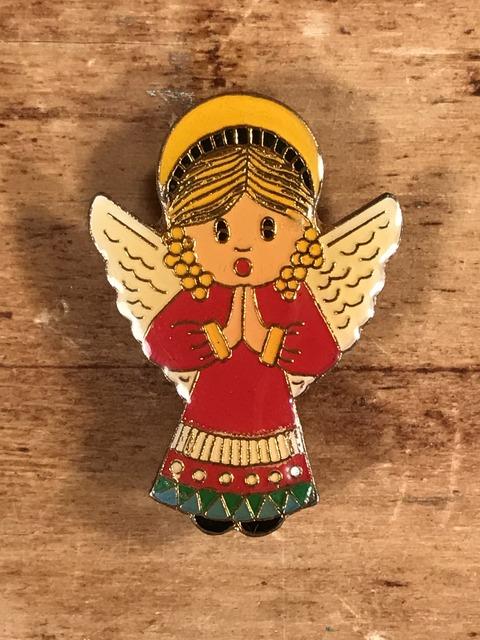Vintage Angel Enamel Pins (1)