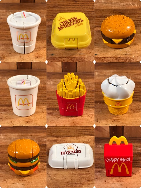 Vintage McDonald's New Food Changeables  Happy Meal Toy (6)