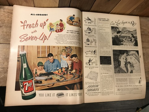vintage 40's life magazine (160)
