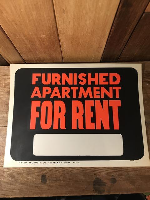 vintage furnished apartment for rent hardware sign (21)