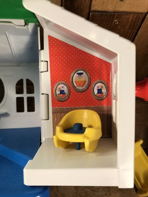 Vintage Little Tikes Toddle Tots Play House (11)