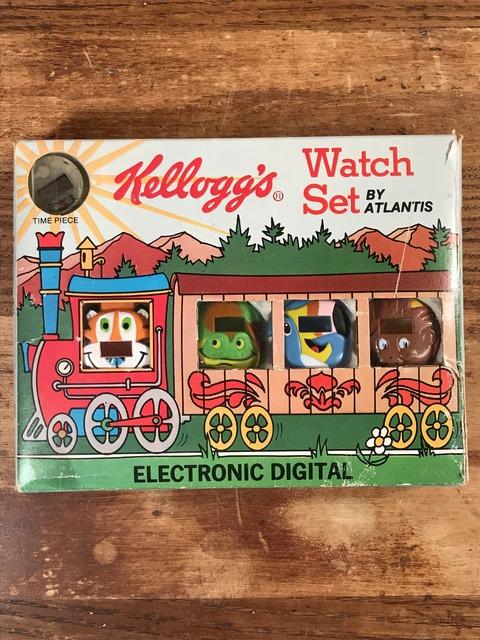 Vintage Kellogg's Electronic Digital Watch Set (3)
