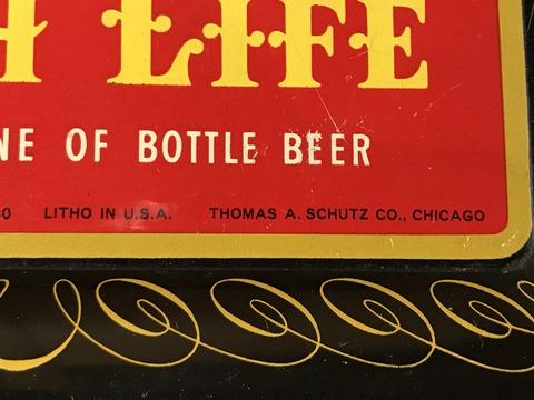 vintage miller high life tin tray (36)