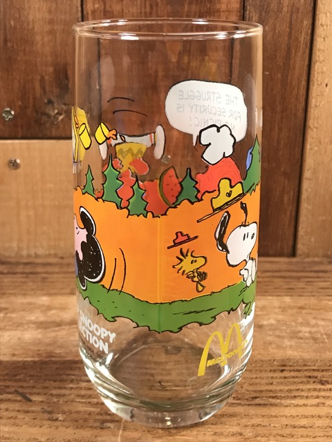 Vintage McDonald's Camp Snoopy Collection Glass (9)