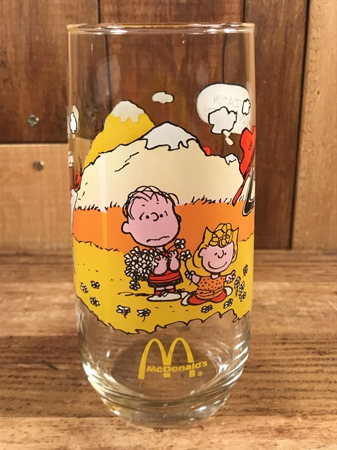 Vintage McDonald's Camp Snoopy Collection Glass (5)