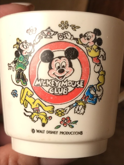 vintage disney mickey mouse club plastic cup (11)