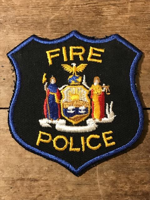 vintage fire police patch (32)